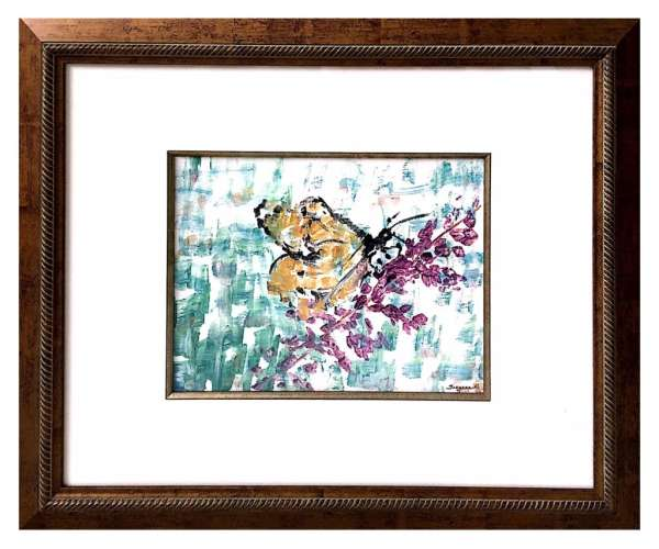 Butterfly Beauty Abstract , Acrylic , $$450.0000